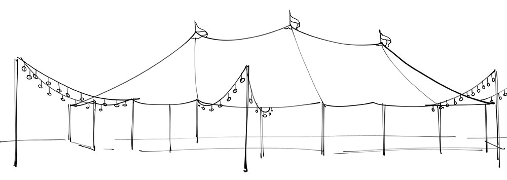 Hamptons event marquees